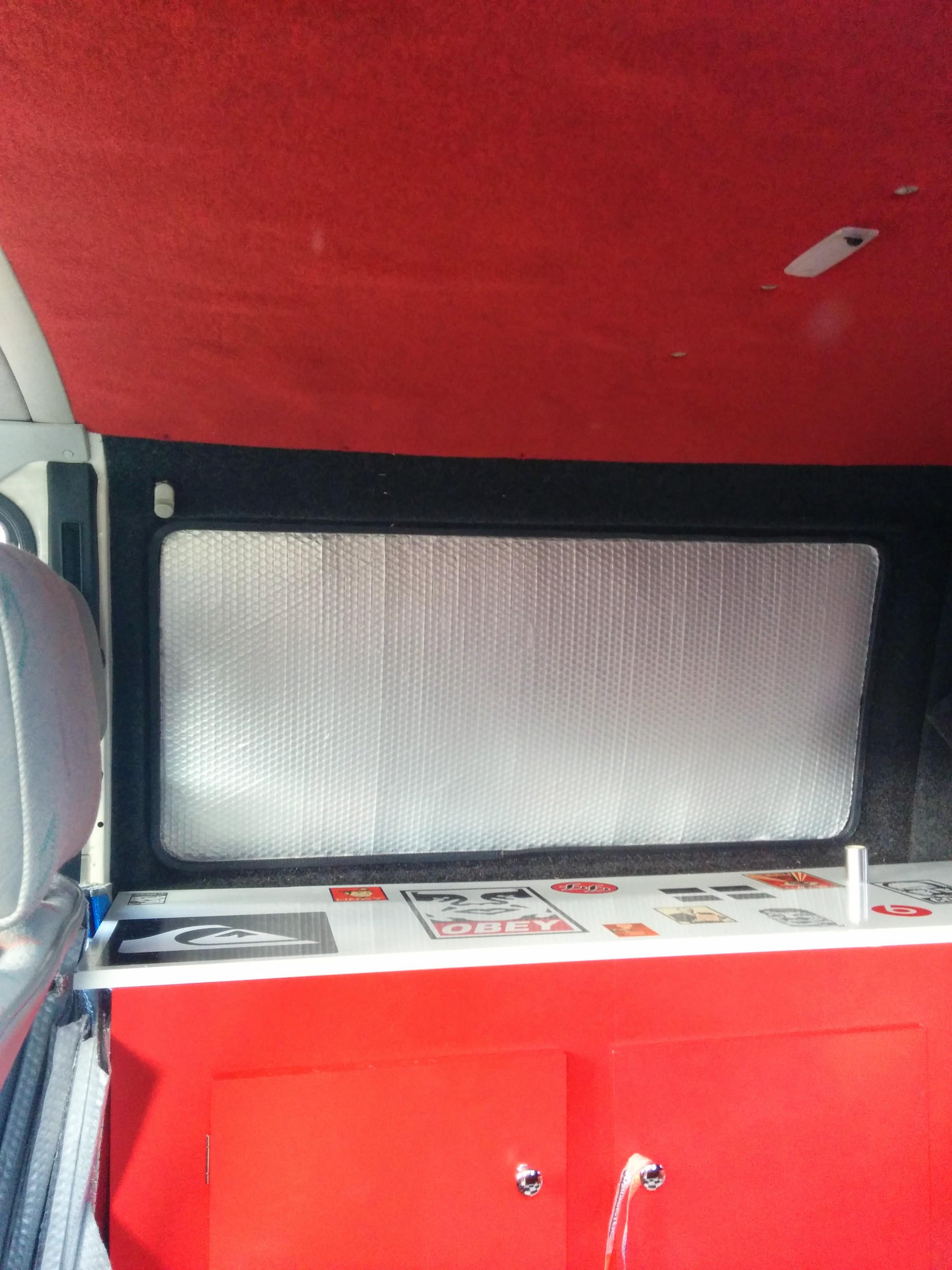 Camper Van Thermal Window Blinds 3 Steps Instructables