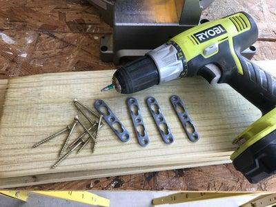 Use Keyhole Hangers Treated With Exterior Enamel