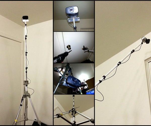 DIY Ultimate Tripod With Camera Boom