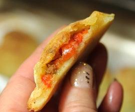 马扎格兰派对或小吃-法式迷你土豆派