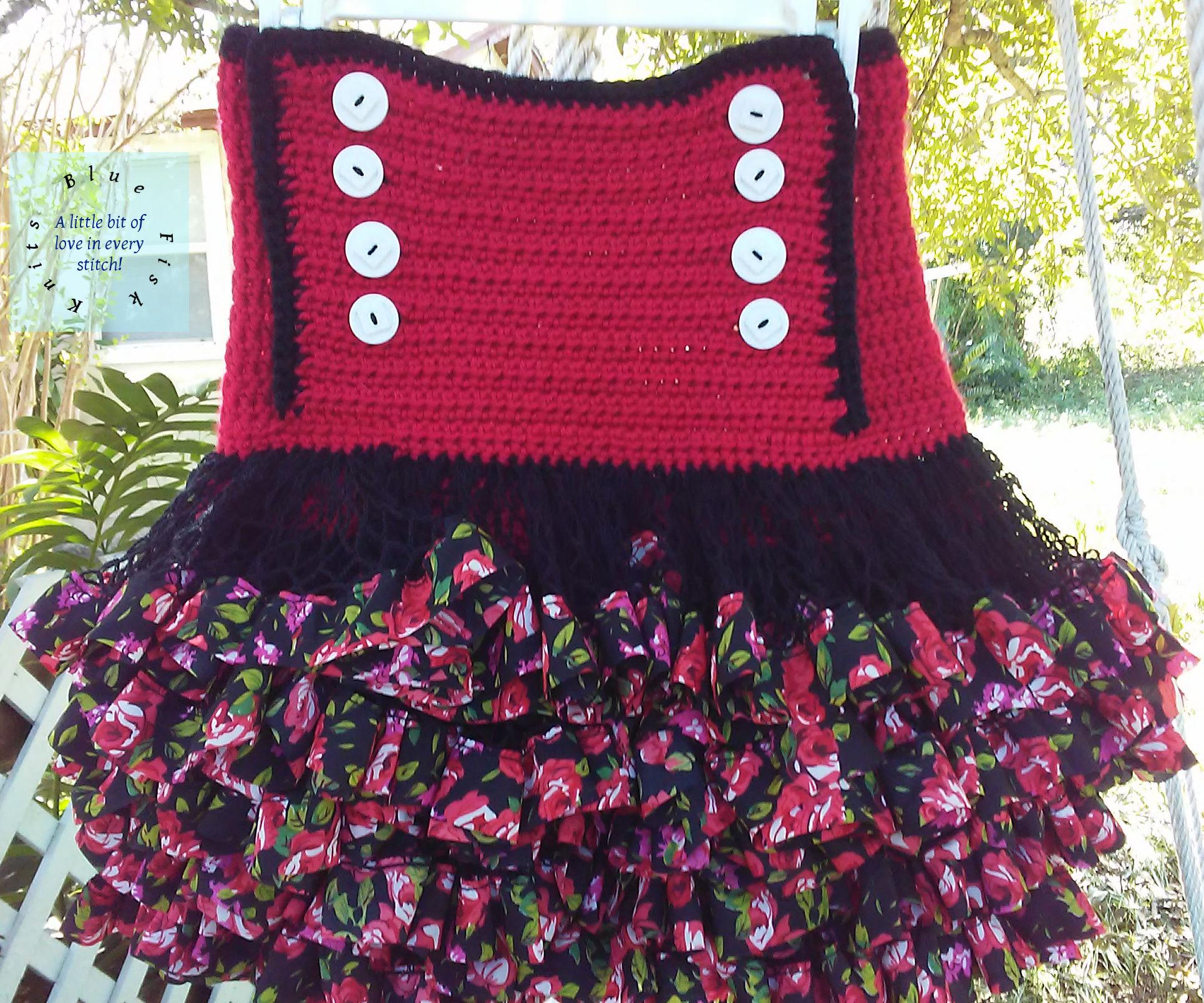 High-Waisted Skater Skirt