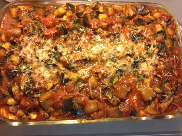 Frugal Food: Vegetarian Cannelloni