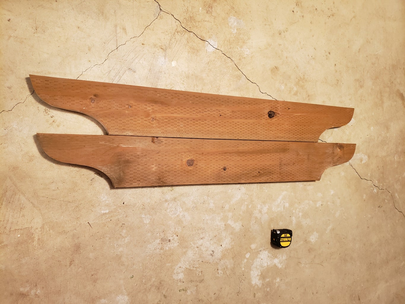 Arch Arbor Side Cross Boards Part 1