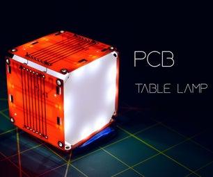 PCB Table Lamp