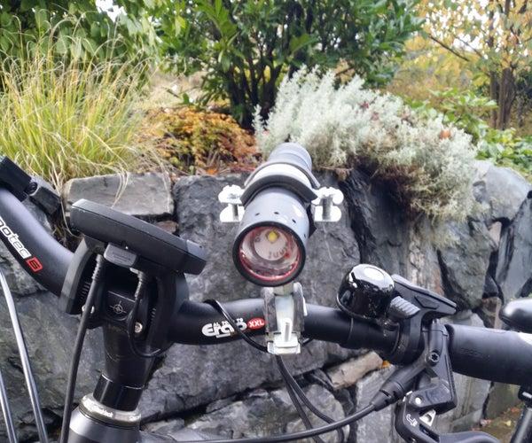 Simple Bike Light Bracket