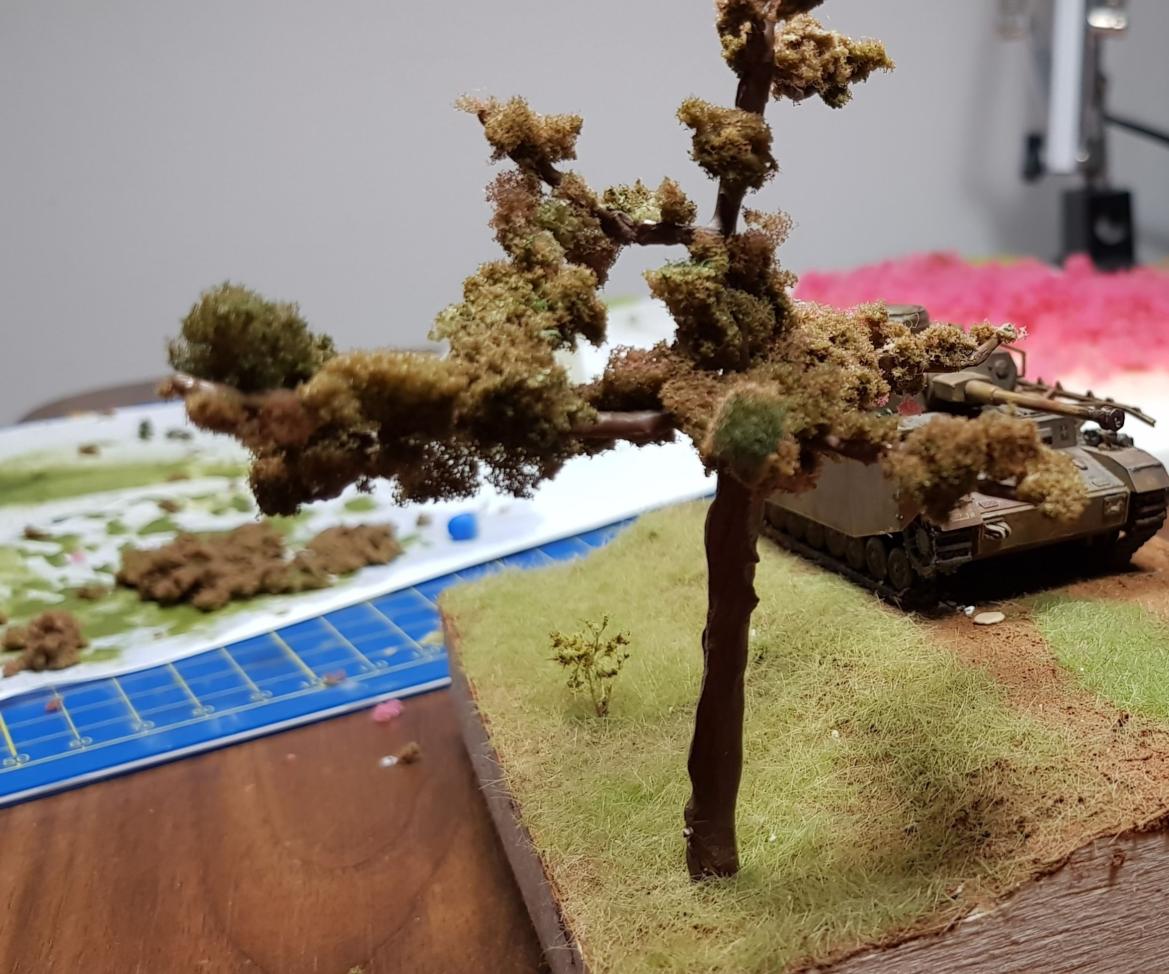 Jak Vyrobit Listnatý Stromek Do Dioráma V 1:72