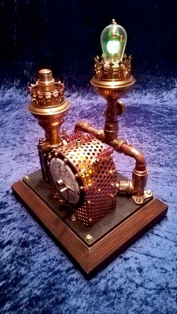 Steampunk Punch Clock