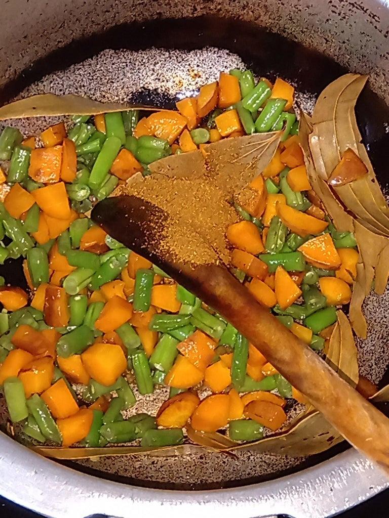 (Part 2) : Add Garam Masala; Mix It Well