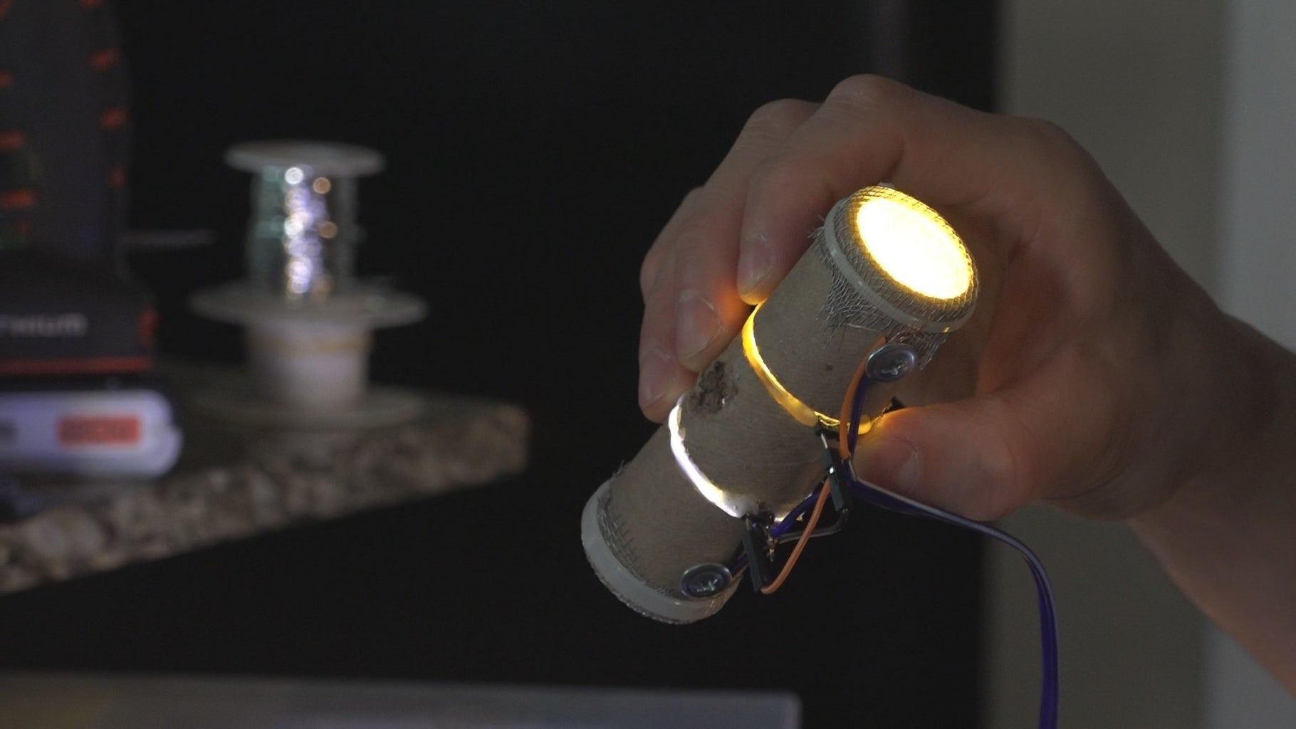 Creating the Light Tubes
