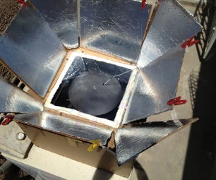 Under $10 Solar Box Cooker