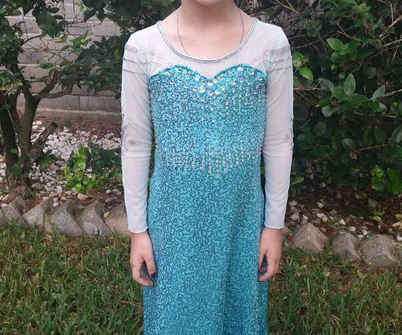 Elsa/Frozen Dress