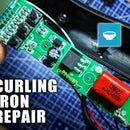 Curling Iron Repair - Thyristor Diagnosis and Replacement
