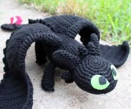 Crochet Toothless
