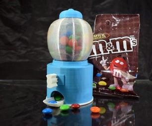 3D Printed Mini Candy Machine