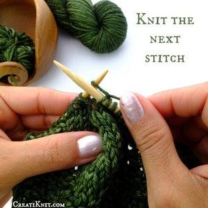 Knit the Next Stitch Normally