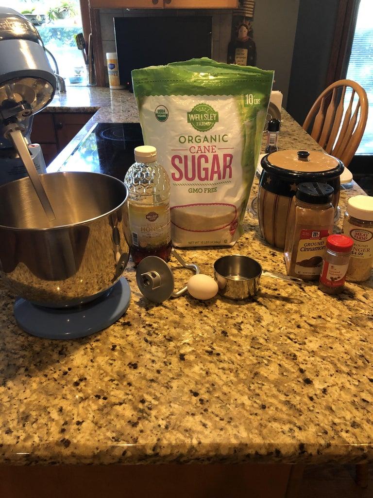 Mixing & Chilling Dough