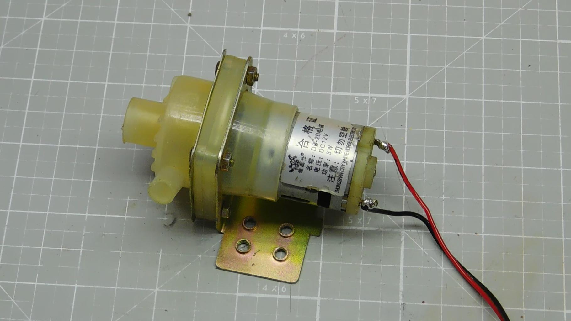 Seal the Pump Motor