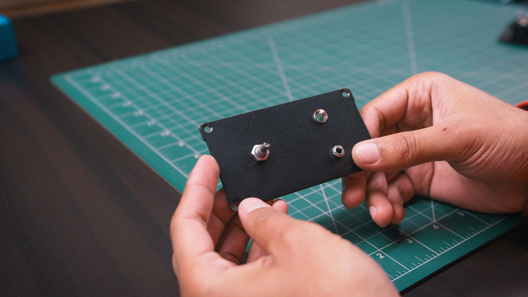 Assembling of Front Panel