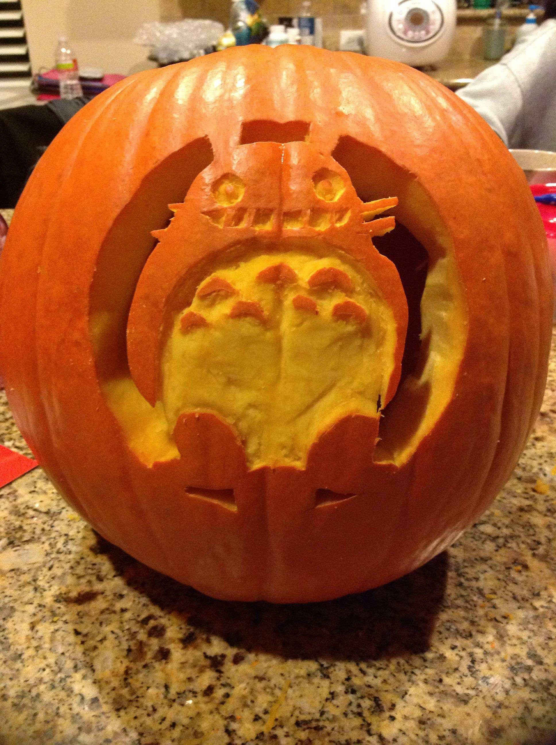 Totoro Pumpkin!