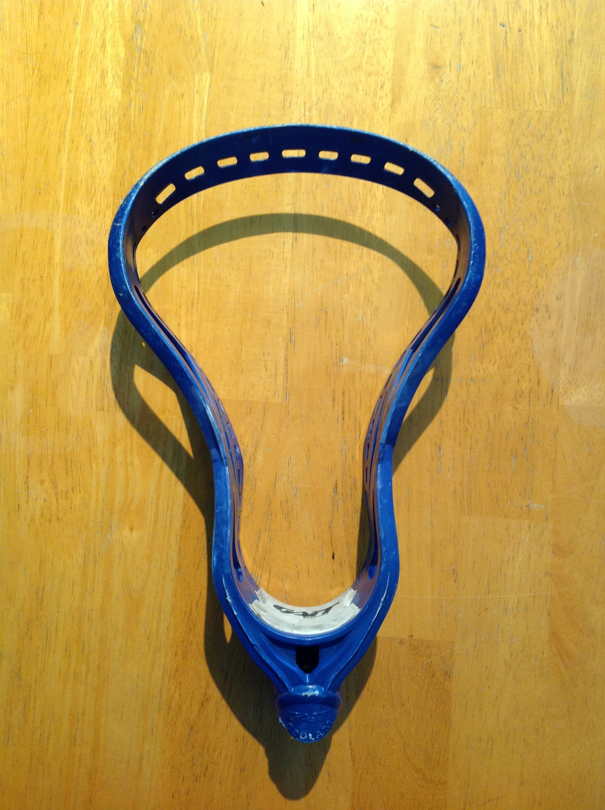 How to pinch a Lacrosse Head