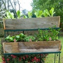 Build Rustic Planter Boxes from Recycled Fencing