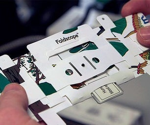 Foldscope : Foldable 50 Cent Microscope