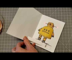 Sliding Light-Up Greeting Card