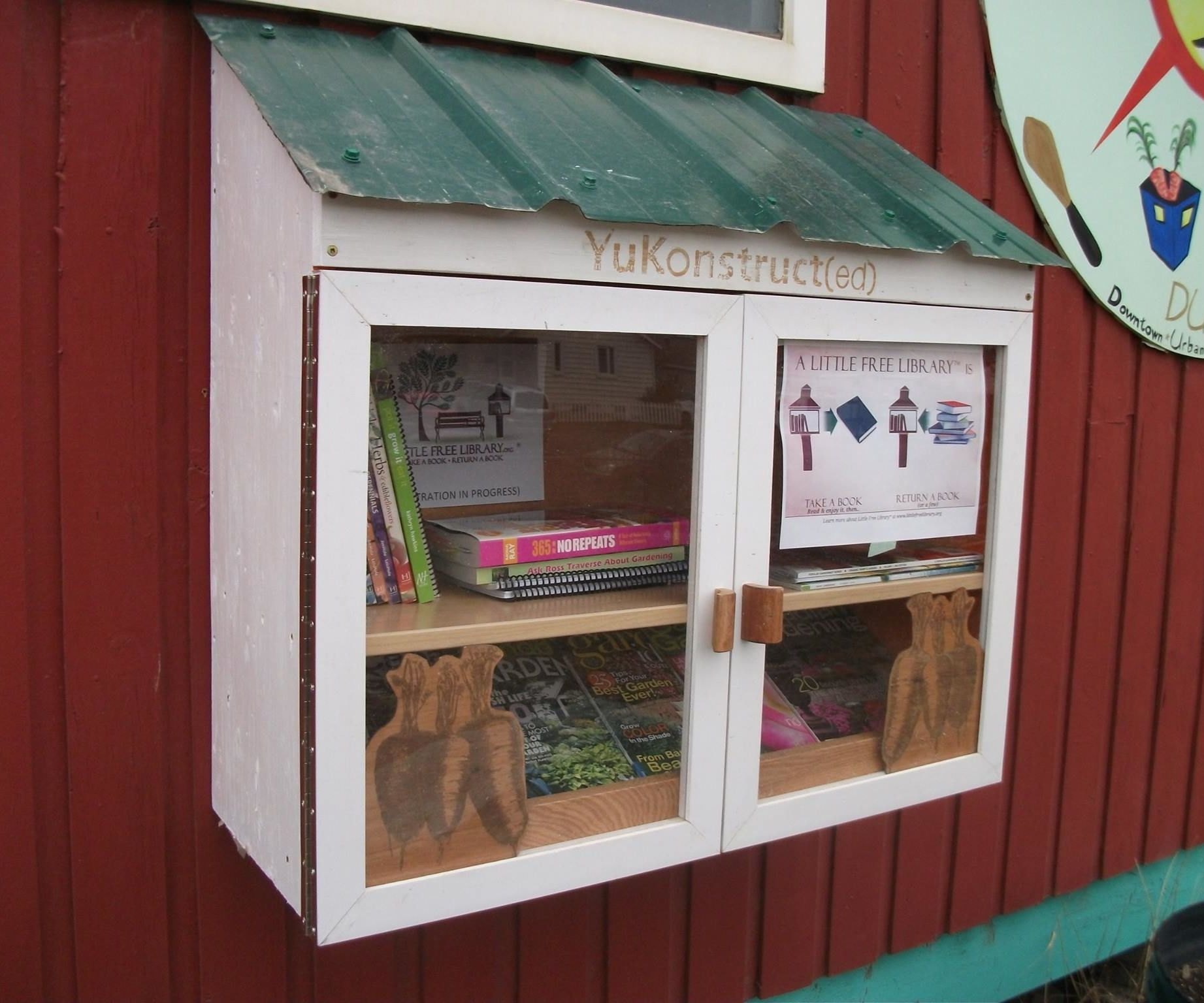 Urban Gardeners' Little Free Library