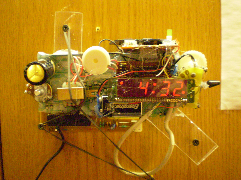 Cyberpunk Clock
