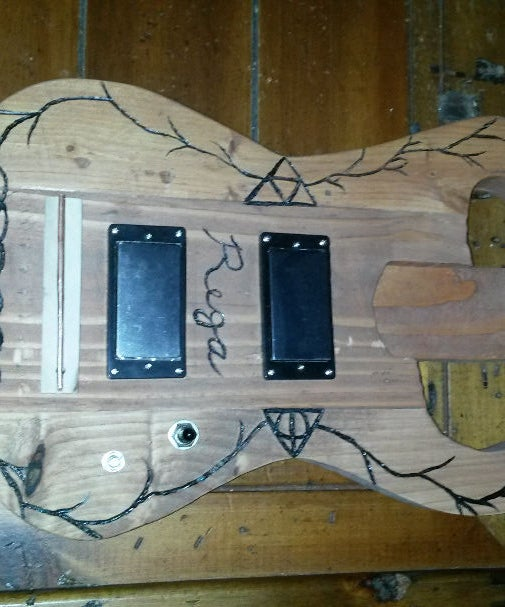 2x4 Guitar Body Build