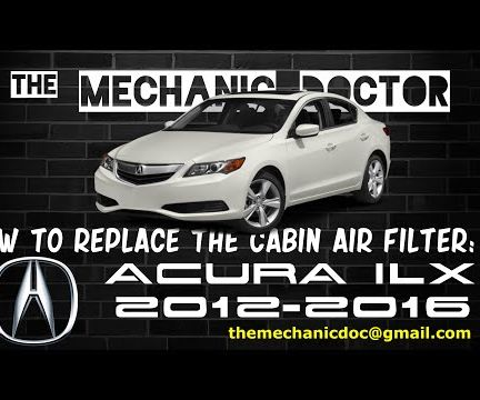 How to Replace the Cabin Air Filter : Acura ILX 2012-2016