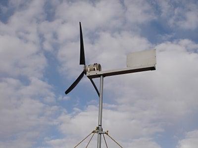 Erect the Wind Turbine