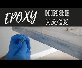 Fix Stripped Door Hinge Screw Holes