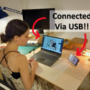 Android Smartphone As USB (!!) Webcam