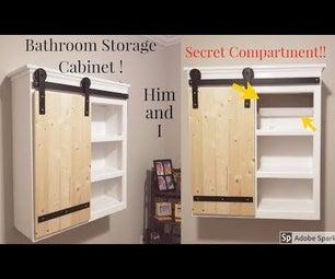 Safe + Secure Bathroom Cabinet