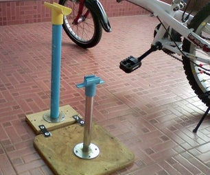 Bicycle Stand Homemade