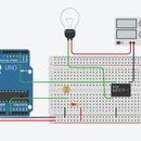 Arduino Light Intensity Lamp Using a Relay