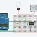 Arduino Light Intensity Lamp Using a Relay