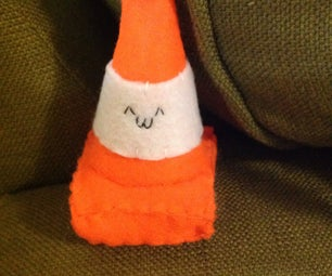 Kawaii Traffic Cone Plushies