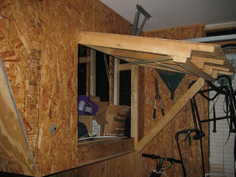 Mount Plywood & Make Door