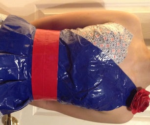 How to Make a Duct Tape Dress in 10 Steps