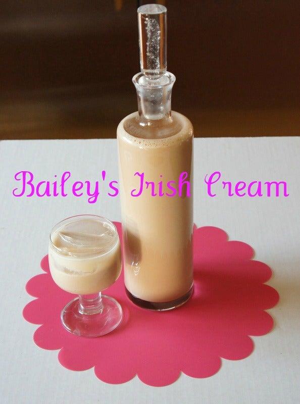 Bootleg Bailey's Irish Cream