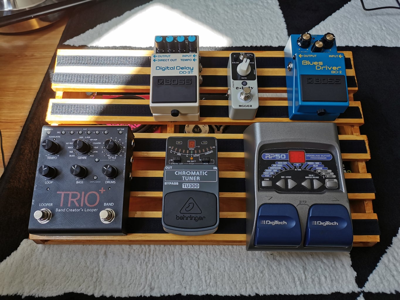 Setting Up Your Pedals