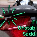 How to Fix Unstable Motorbike Saddle