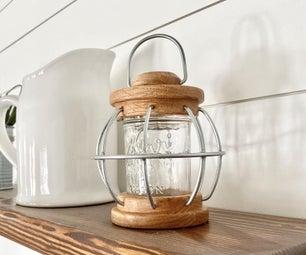 LED Mason Jar Lantern