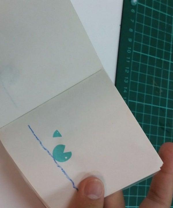 Animation Flipbook Using Silhouette Portrait Cutter