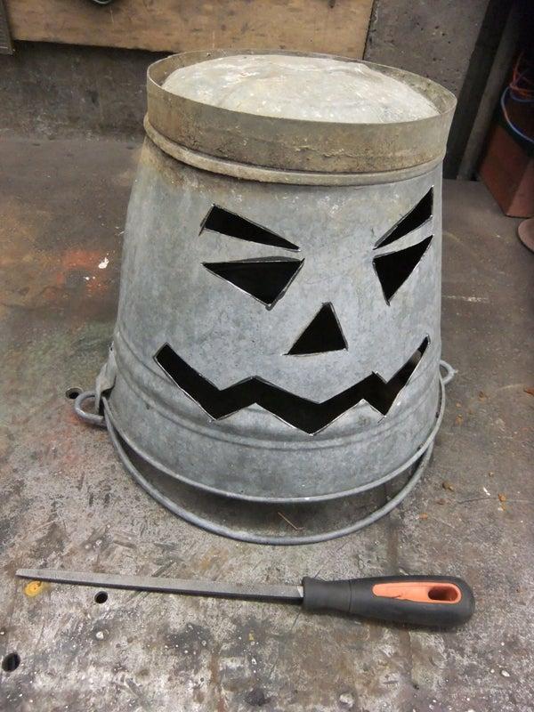 Halloween Bucket Lantern