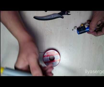 How To Make Electric Lighter