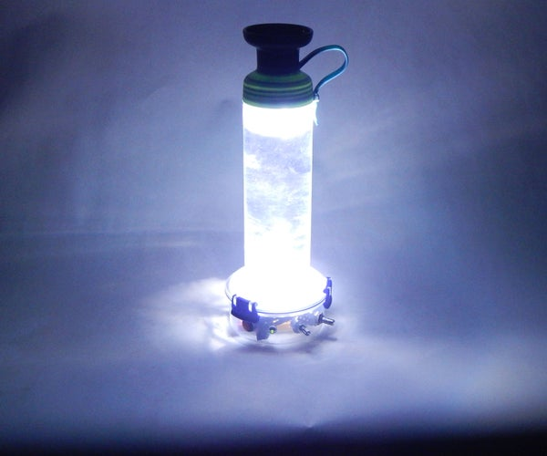 Shake Activated Water Bottle Night Light