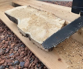 Wooden Chainsaw Mill